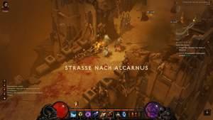 Diablo 3 - Komplettlösung : Die Straße nach Alcarnus