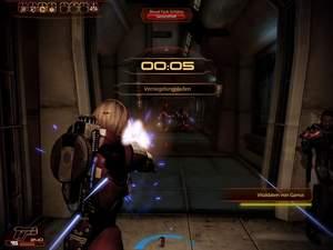 Mass Effect 2 : Läuft der Countdown zur Schließung der Tür, darf kein Gegner durch die Tür gelangen, sonst wird der Schließvorgang zurückgesetzt.