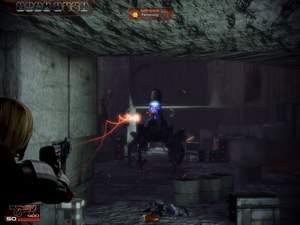 Mass Effect 2 : Von der Seite können Sie sich dem Koloss am besten nähern.