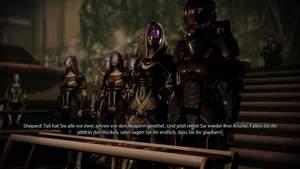 Mass Effect 2 : Mit ihren Gesinnungs-Dialogoptionen (hier: abtrünnig) können Sie beim Gericht mächtig Eindruck schinden.