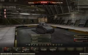 World of Tanks : Um neu erforschte Teile dann zu kaufen und einzubauen, klicken Sie in der Hauptansicht auf die entsprechende Kategorie und wählen das neue Teil aus.
