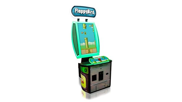 Den Mobile-Hit Flappy Bird gibt es ab sofort auch in einer Arcade-Version.