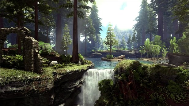 Ark: Survival Evolved - Trailer: Neues Redwood-Biom und der Titanosaurus