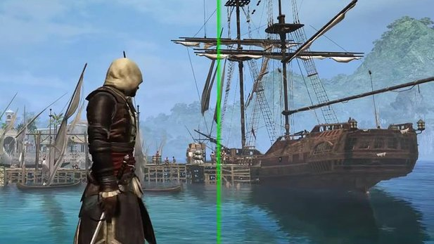 PC-Grafik-Trailer von Assassin's Creed 4