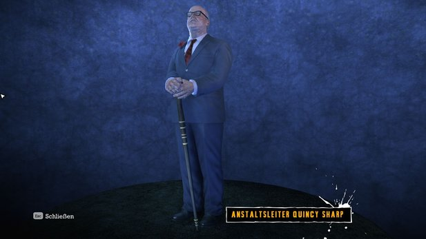 Avanciert Quincy Sharp in Arkham 2 zum Bürgermeister?