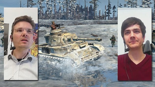 Company of Heroes 2 - Multiplayer-Duell aus der Beta-Version