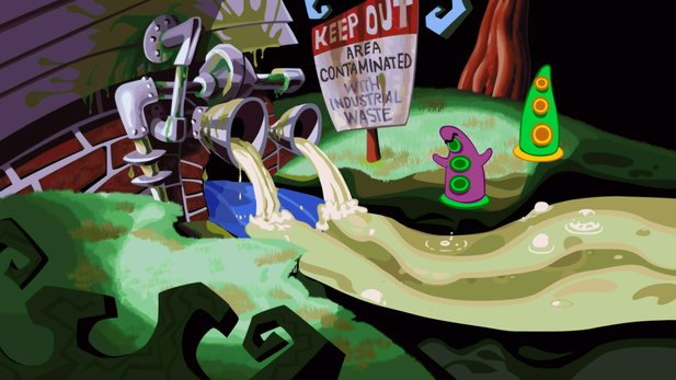 Day of the Tentacle Remastered kommt nun doch für PC, PS4 und PS Vita.
