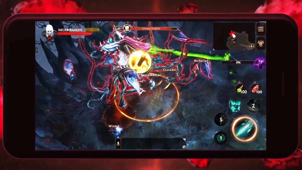 """Diablo Immortal - First Feature: How Mobile-Diablo Works """"width ="""" 16 """"height ="""" 9"""