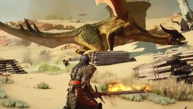 Dragon Age: Inquisition - Gameplay-Trailer zeigt Kämpfe, Magie & Drachen
