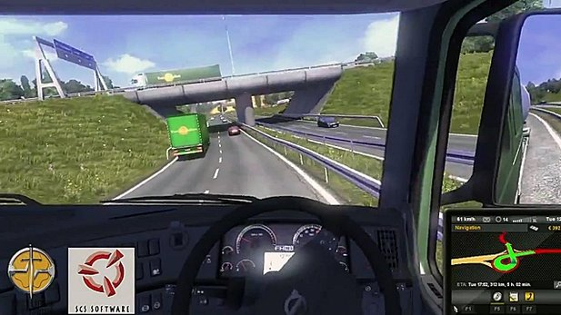 Euro Truck Simulator 2 - Gameplay-Trailer