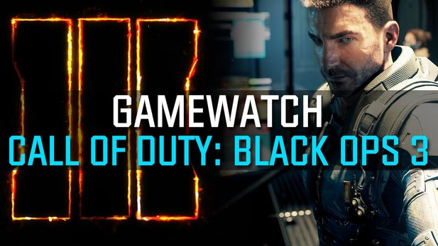 Gamewatch - Call of Duty: Black Ops 3 - So viel Splatter & Infos stecken im Trailer
