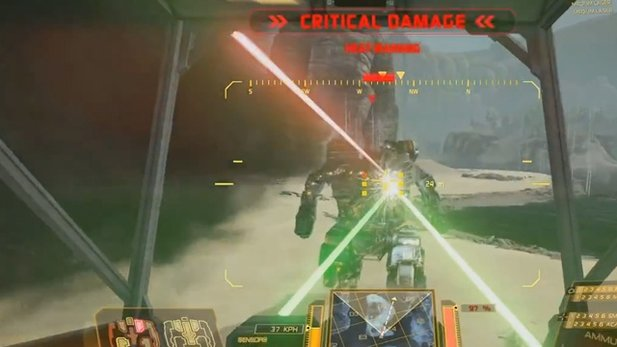 Gamplay-Video von MechWarrior Online