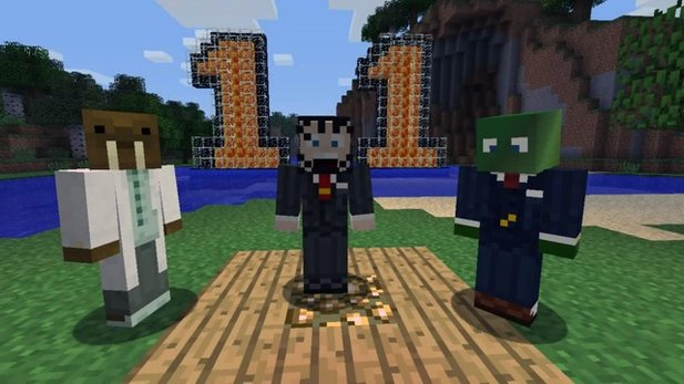 Video zum Patch 1.1 von Minecraft
