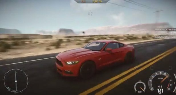 Ein DLC für Need for Speed Rivals enthält den Ford Mustang.