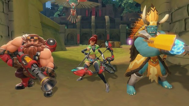Paladins: Champions of the Realm - MOBA-Actionspiel im Trailer