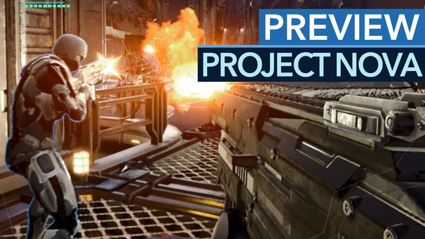 Project Nova - Preview the PC shooter game in the world of Eve Online