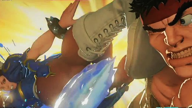 Street Fighter 5 - Erstes komplettes Match im Gameplay-Trailer