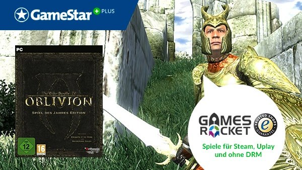 Die Game of the Year-Edition von The Elder Scrolls 4: Oblivion enthält das großartige Hauptspiel und die beiden Add-Ons Knights of the Nine und The Shivering Isles.