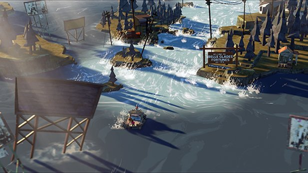 Derzeit läuft die Kickstarter-Kampagne für The Flame in the Flood.