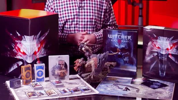 The Witcher 3: Wild Hunt - Offizielles Unboxing der Collector's Edition für Xbox One