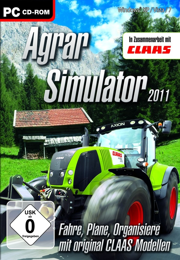 Cover zu Agrar Simulator 2011