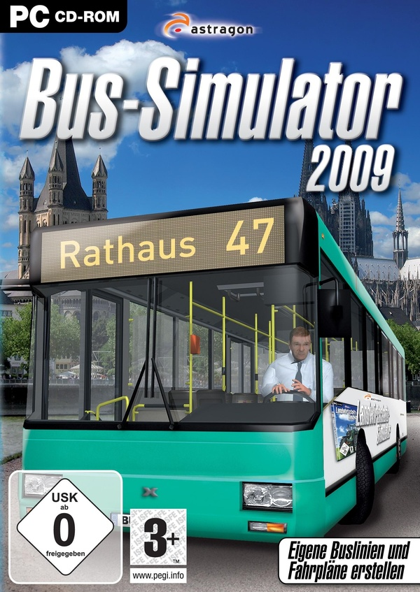 Cover zu Bus-Simulator 2009