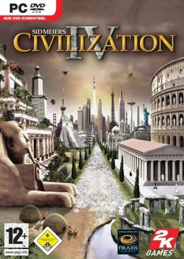 Cover zu Civilization 4