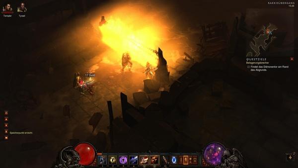 Diablo 3 - Komplettlösung : Der Eingang zum Rand des Abgrunds.