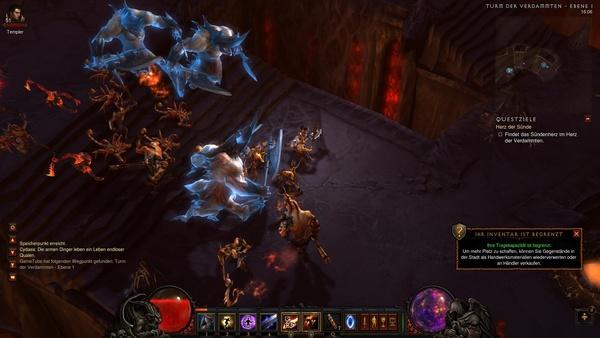 Diablo 3 - Komplettlösung : Der Turm der Verdammten.
