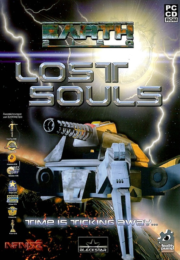 Cover zu Earth 2150: Lost Souls