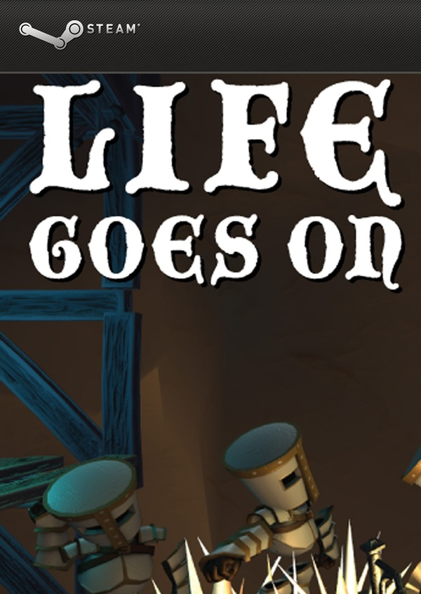 Cover zu Life Goes On