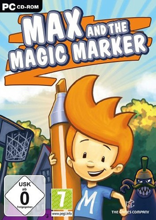 Cover zu Max and the Magic Marker