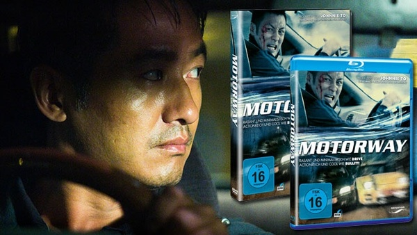Motorway - DVDs, Blu-rays und Need for Speed: Most Wanted gewinnen