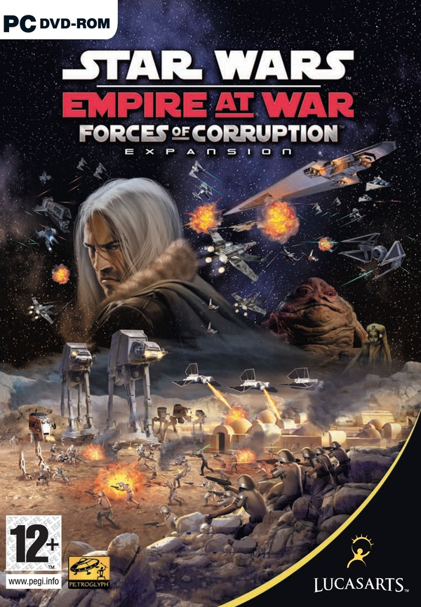 Cover zu Star Wars: Empire at War - Forces of Corruption