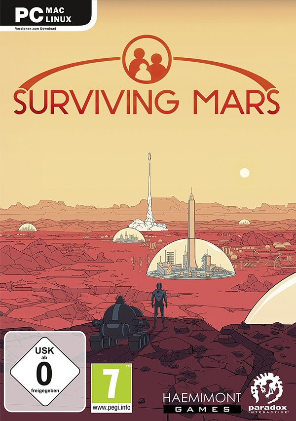 Cover zu Surviving Mars