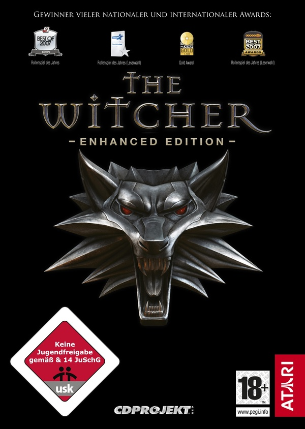 Cover zu The Witcher: Enhanced Edition
