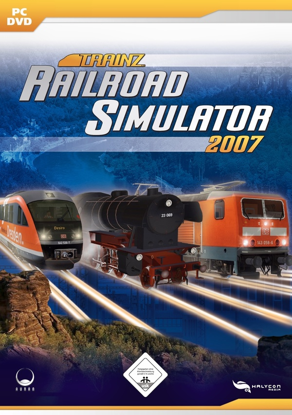 Cover zu Trainz Railroad Simulator 2007