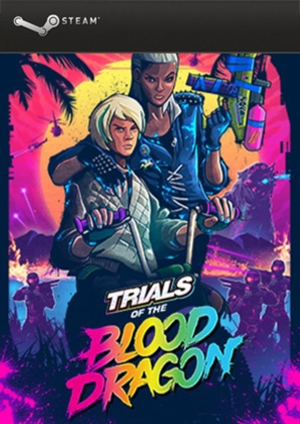 Cover zu Trials of the Blood Dragon