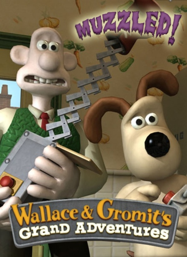 Cover zu Wallace & Gromit: Muzzled!