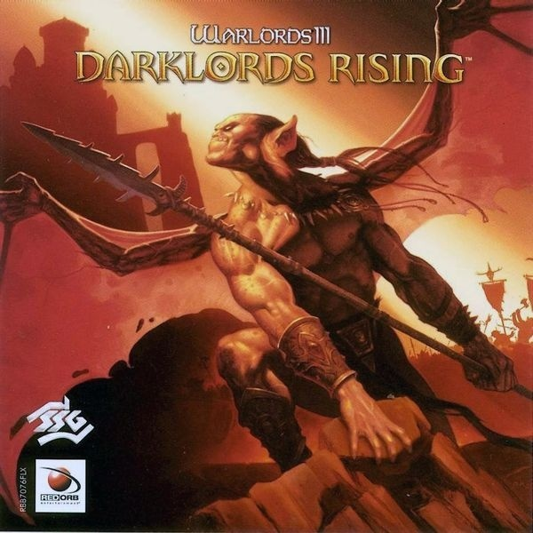 Cover zu Warlords 3: Darklords Rising