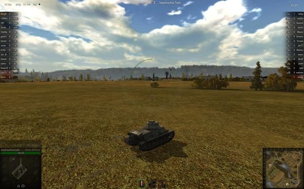 World of Tanks : Doofe Idee: Wenn Sie so offen auf freiem Feld herumfahren, ist es nur eine Frage der Zeit bis...