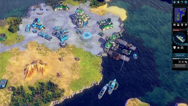 Screenshot zu Battle Worlds: Kronos - Screenshots