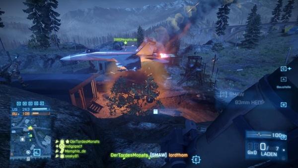 Screenshot zu Battlefield 3 - Armored Kill-DLC