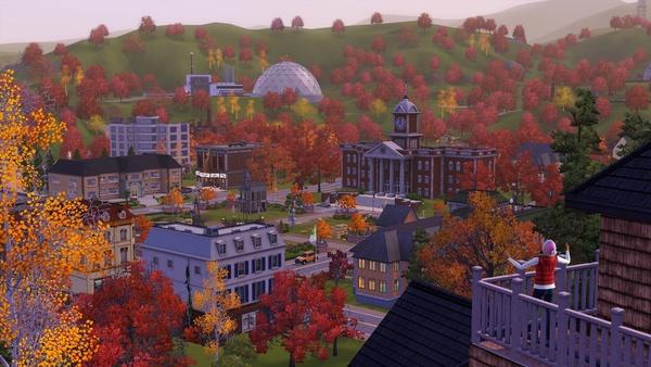 Screenshot zu Die Sims 3: Vier Jahreszeiten - Screenshots