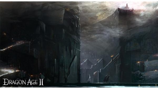 Screenshot zu Dragon Age 2 - Artworks und Konzeptzeichnungen