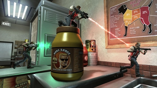 Screenshot zu Duke Nukem Forever - Screenshots aus dem Multiplayer-Modus