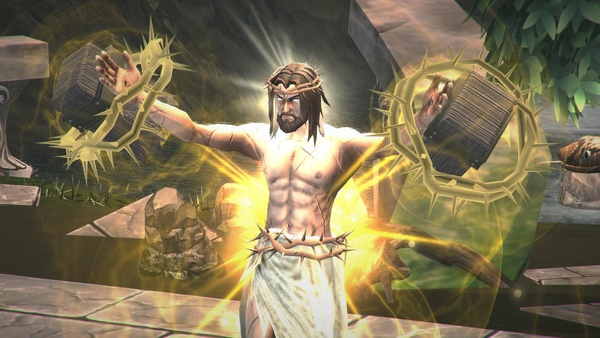 Bild der Galerie Fight of Gods: Alle göttlichen Kämpfer - Von Jesus bis zum Weihnachtsmann