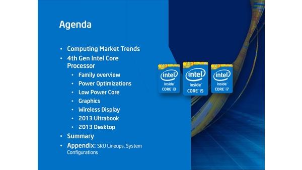 Bilder zu Intel Core i7 4770K - Hersteller-Präsentation