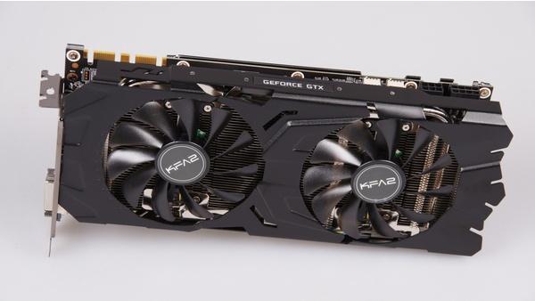 Bilder zu KFA² Geforce GTX 1070 EX - Bilder