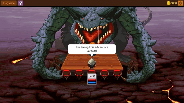 Screenshot zu Knights of Pen and Paper 2 - Screenshots